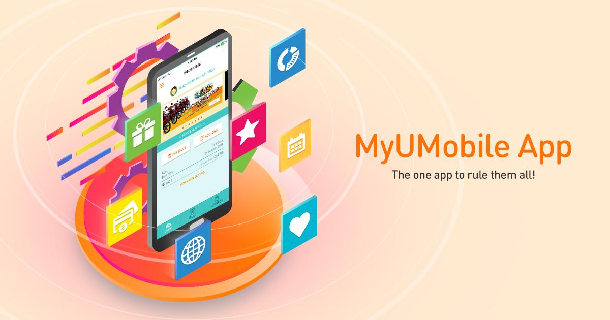 U Mobile - MyUMobile App