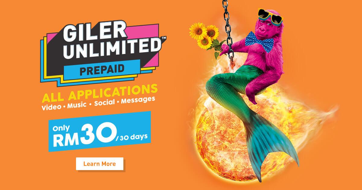U Mobile - Giler GX30 Prepaid